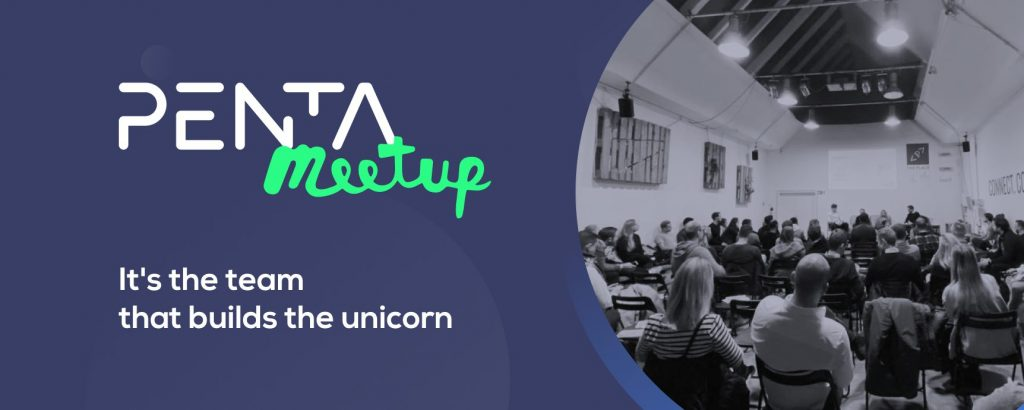 It's the team that builds the unicorn Penta Fintech Meetup